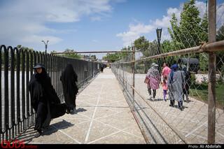 شهرداری مشهد به تازگی اقدام به ساخت منطقه رو به روی آرامگاه فردوسی کرده است و تا پایان پروژه ساخت راه جدیدی جهت رفت و آمد ایجاد نموده است.