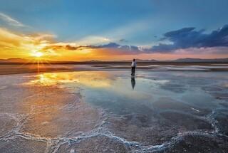 دریاچه نمک قم