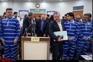 """هفتمین جلسه رسیدگی به اتهامات متهمین پرونده شرکت """"پدیده"""""""
