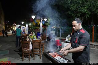 خیابان غذا مشهد