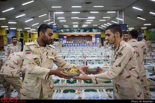 ضیافت افطار در مرکز آموزش مرزبانی ناجا مشهد