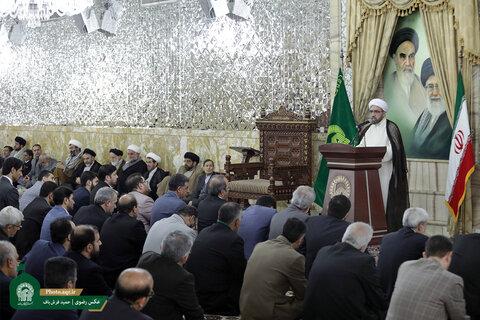 بیانیه گام دوم انقلاب اسلامی سند بالادستی آستان قدس رضوی است