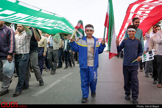 راهپیمایی روز قدس در مشهد