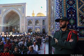 مراسم سالگرد رحلت امام خمینی در مسجد گوهرشاد