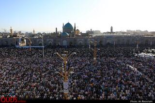 نماز عید سعید فطر در حرم مطهر رضوی