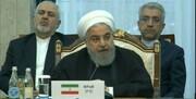 روحانی: آمریکا به طور یکجانبه از برجام خارج شده و دیگر کشورها را نیز تهدید میکند