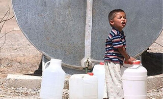 تامین آب شرب روستا