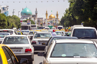 ترافیک اطراف حرم