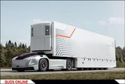 «ولوو» تولید کامیونهای خودران را توسعه میدهد