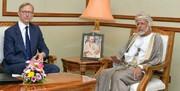 برایان هوک با وزیر خارجه عمان در مسقط دیدار کرد