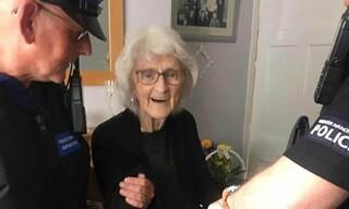 مادربزرگ 93 ساله