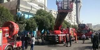 آتش سوزی هتل قصر
