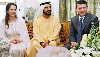 پادشاه امارات و پادشاه اردن