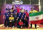 نوجوانان ایران بر صدر کشتی آسیا ایستادند