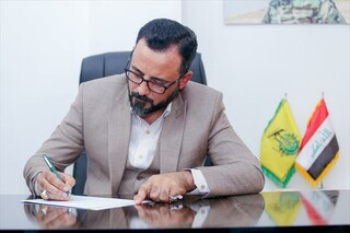 نصر الشمری، رئیس شورای اجرایی «نجباء» عراق