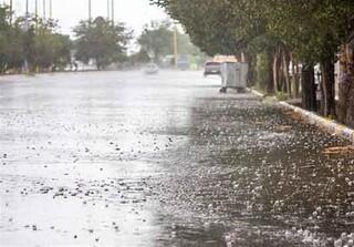بارشهای پراکنده رگباری