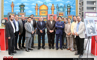 بازدید معاونت مطبوعاتی وزارت فرهنگ وارشاد اسلامی از روزنامه قدس