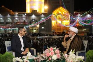 تولیت آستان قدس رضوی در برنامه گفتوگوی ویژه خبری