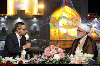 گفتگوی ویژه خبری شبکه دو سیما با حضور تولیت آستان قدس رضوی