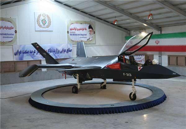 آشنایی با جنگنده ساخت ایران که همتزار F18 آمریکاست قاهر 313، یک پنهانکار از نوع ایرانی+ تصاویر