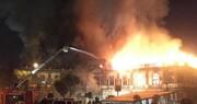 دو گنبد کلاهفرنگی میدان حسن آباد کاملاً تخریب شد