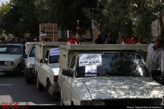 اهدای50 سری جهیزیه به ازسوی بنیادخیریه خجسته