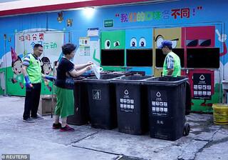 برنامه سختگیرانه دولت چین برای تفکیک زبالهها