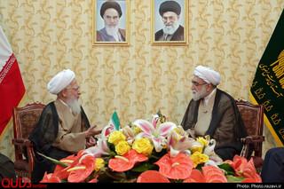 دیدار تولیت آستان قدس رضوی با علما و مراجع تقلید در مشهد
