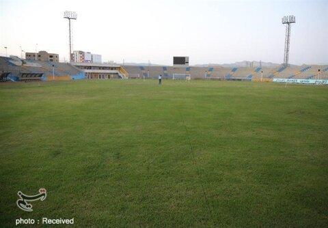 زمان بهرهبرداری از چمن ورزشگاه ثامنالائمه مشهد
