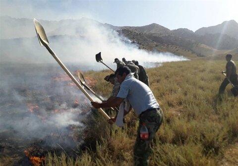 حریق در ۲۰۰ هکتار از اراضی زیست محیطی خراسان رضوی