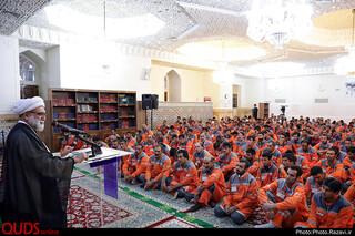 دیدار جمعی از پاکبانان با تولیت آستان قدس رضوی