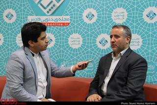 دیدارفرماندار مشهد و همراهان باخبرنگاران روزنامه قدس