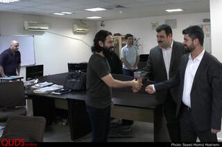 دیدار مدیرکل اداره فرهنگ و ارشاداسلامی خراسان رضوی باخبرنگاران روزنامه قدس