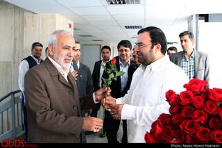 دیدارقائم مقام آستان قدس رضوی با خبرنگاران روزنامه قدس