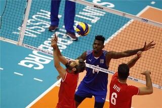 والیبال ایران و کوبا