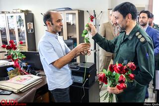 بازدیدهای روز خبرنگار روزنامه قدس _5