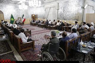 دیدار فعالان فرهنگی حاشیه شهر با تولیت آستان قدس رضوی