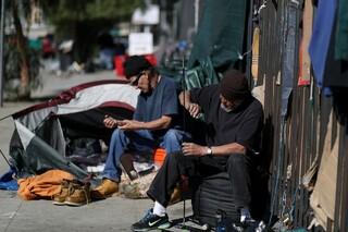 بی خانمان ها در کالیفرنیا