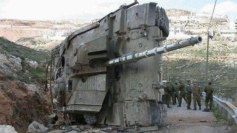 تانک واژگون شده مرکاوا