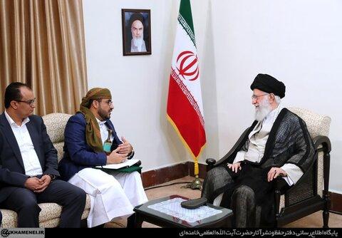 رهبر معظم انقلاب حوثی یمن