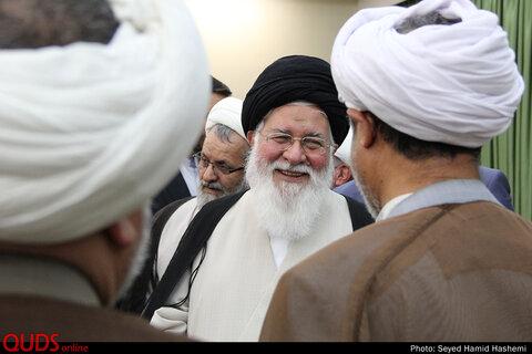 دیدار مدیران امورمساجدخراسان با آیت الله علم الهدی امام جمعه مشهد