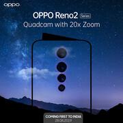 سری OPPO Reno 2 با دوربین چهارگانه و بزرگنمایی 20 برابر را بشناسیم +عکس