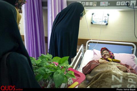 """""""قرار ملاقات"""" عیادت دانشجویان از بیماران به مناسبت عید سعید غدیر"""