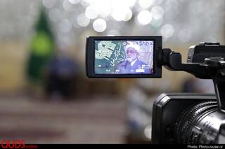 دیدار جمعی از امانتداران حوزه حمل و نقل مشهد با تولیت آستان قدس رضوی