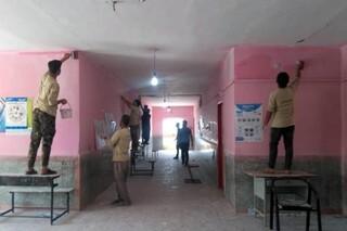 بهسازی مدارس چناران