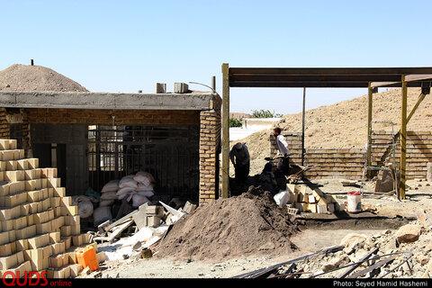 گزارشی از اردوهای جهادی؛ بازسازی روستاهای سیل زده خراسان رضوی