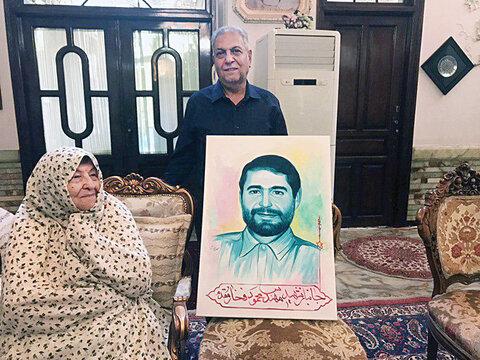 خانواده شهید فخار مقدم