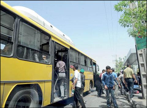 اتوبوس های بی کولر