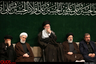 اولین شب مراسم عزاداری اباعبدالله الحسین علیه السلام حسینیه امام خمینی (ره)