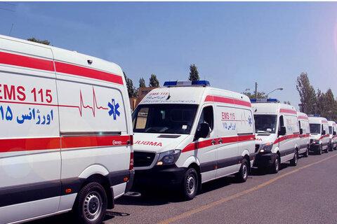 ناوگان امبولانس اورژانس